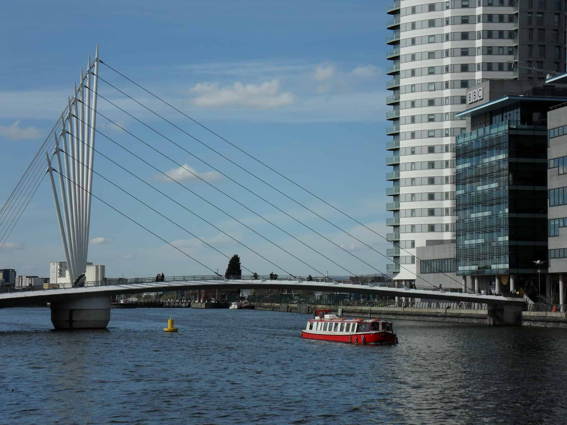Salford Quays In The Daytime